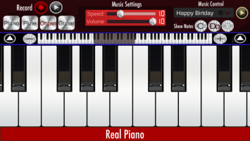 Real Piano - Play And Learn Screen