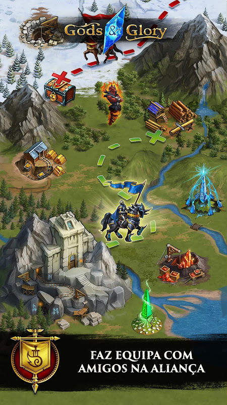Gods and Glory: War for the Throne screenshot 2