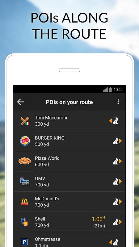 poi su navigon android