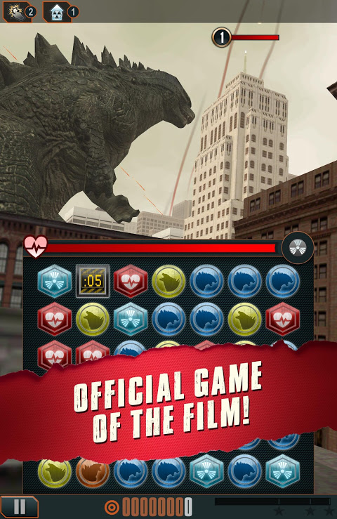 Godzilla - Smash3 screenshot 1