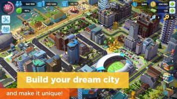 SimCity BuildIt Screen