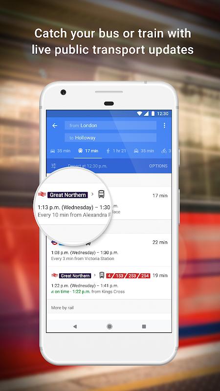 Maps - Navigation & Transport screenshot 2