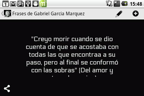 Frases Gabriel Garcia Marquez 30 загрузить Apk для Android