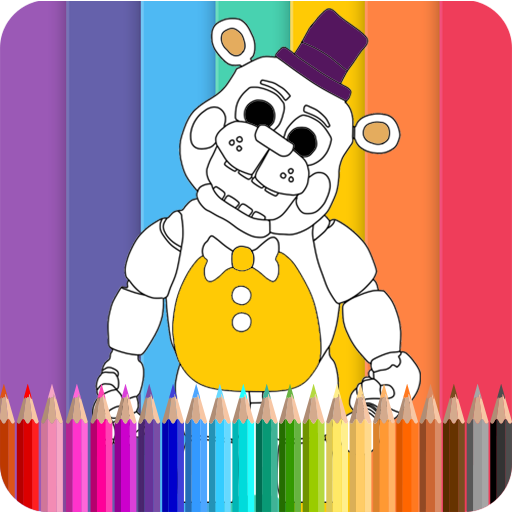 Coloring Book Five Nights kids