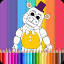 Coloring Book Five Nights kids