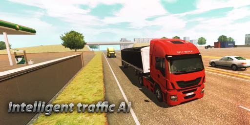 Truck Simulator : Europe screenshot 2