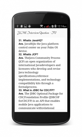J2ME interview Questions 1 0 1 Download APK for Android