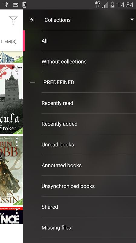 Bookari Ebook Reader Premium screenshot 2
