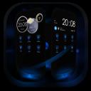 Next Launcher Theme MagicBlue