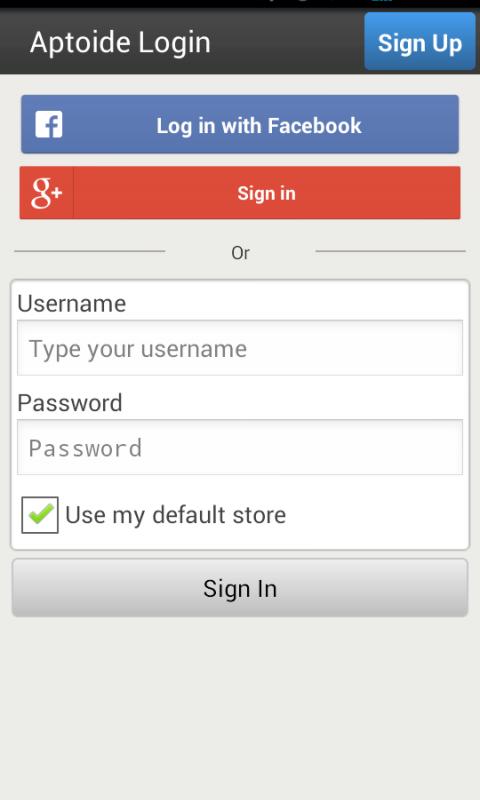 Aptoide Uploader screenshot 1