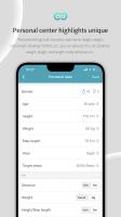 WearFit2.0 Screen