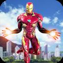 voando super-herói vingança: grande cidade capitão
