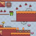 超级忍者青蛙-水果冒险!