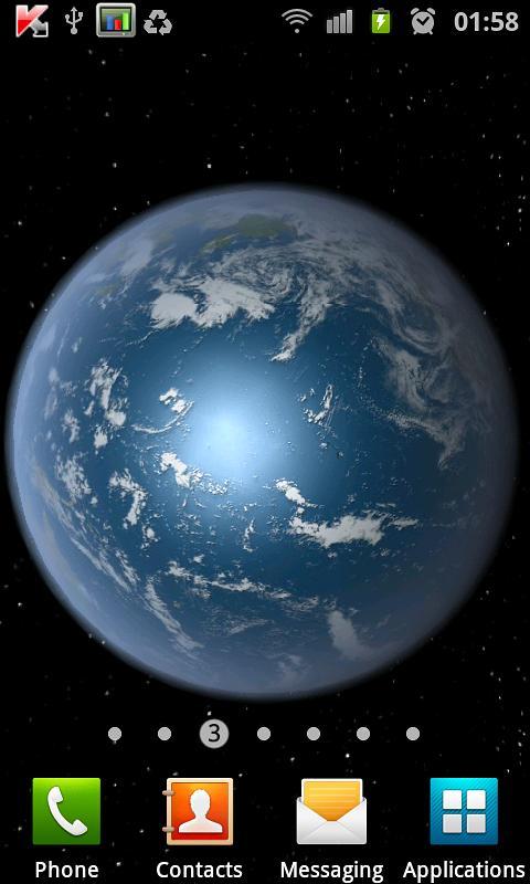 Earth HD Free Edition screenshot 1