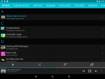 Rocket Player : Music Player screenshot 19