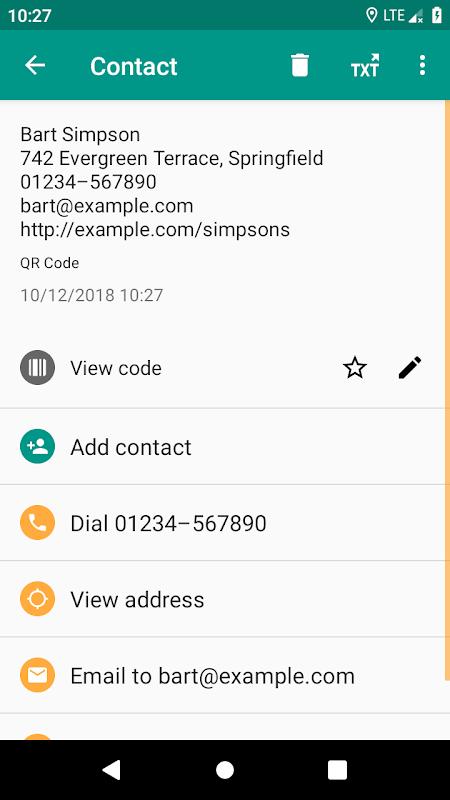 QR & Barcode Reader screenshot 2