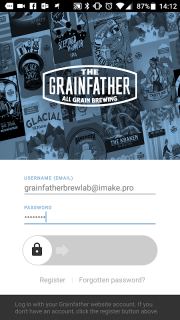 Grainfather Connect screenshot 1