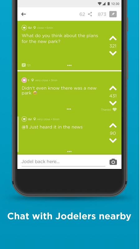 Jodel - Hyperlocal Community screenshot 2