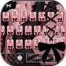 pink fashion keyboard theme icon