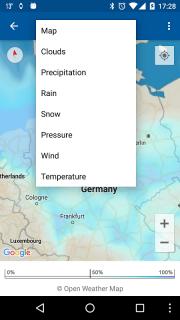 Transparent clock weather Pro screenshot 9