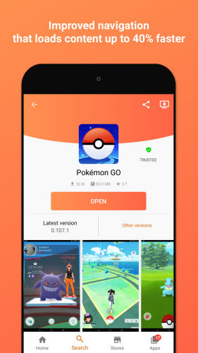 Aptoide screenshot 1