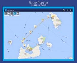 MarineTraffic ship positions Screenshot