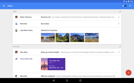 Inbox by Gmail screenshot 1