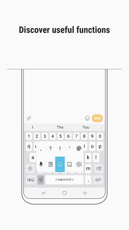 Samsung Keyboard screenshot 2