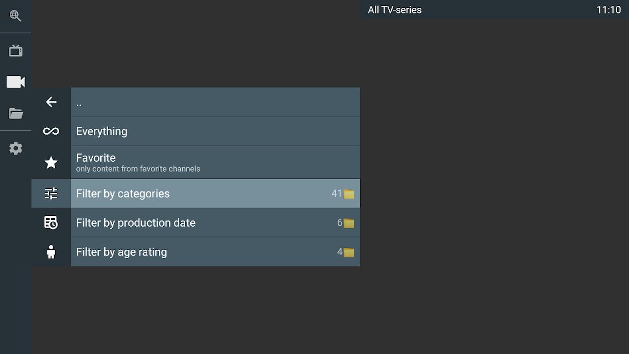 OTT Navigator IPTV screenshot 2
