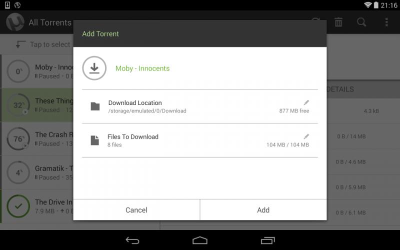 µTorrent® Pro - Torrent App screenshot 13