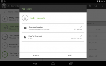 µTorrent® Pro - Torrent App Screenshot