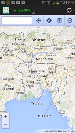 Bangla GPS NavigationMap Download APK For Android Aptoide - Bangladesh map download