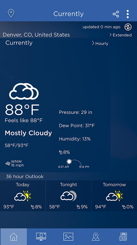 WeatherNation screenshot 2
