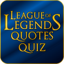 league of legends quotes quiz icon