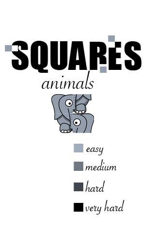Squares - Animals screenshot 1