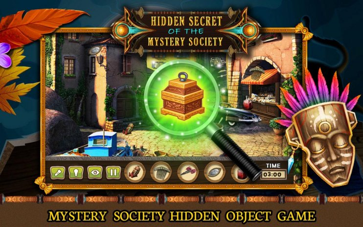 Hidden Object Games 200 Levels Mysterysociety1 0 0 Tải Apk Danh