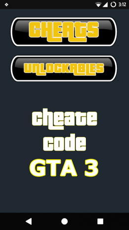 Cheat Codes for GTA 3 1 0 3 Download APK for Android - Aptoide