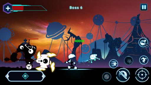 Stickman Ghost 2: Galaxy Wars screenshot 3
