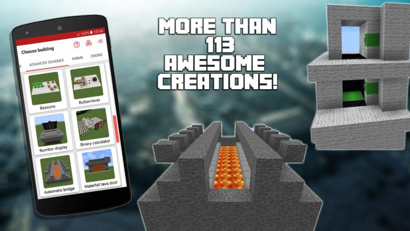 Redstone builder for minecraft pe 91 download apk for android aptoide redstone builder for minecraft pe screenshot 5 malvernweather Choice Image