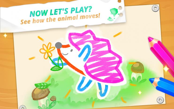 çocuklar Için çizim Kids çocuklar Boyama Oyunları 1119 R Android
