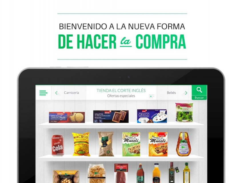 Supermercado el corte ingl s download apk for android - Estores screen el corte ingles ...
