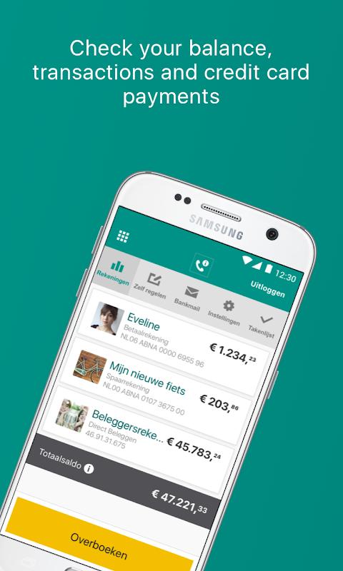 ABN AMRO Mobiel Bankieren screenshot 1