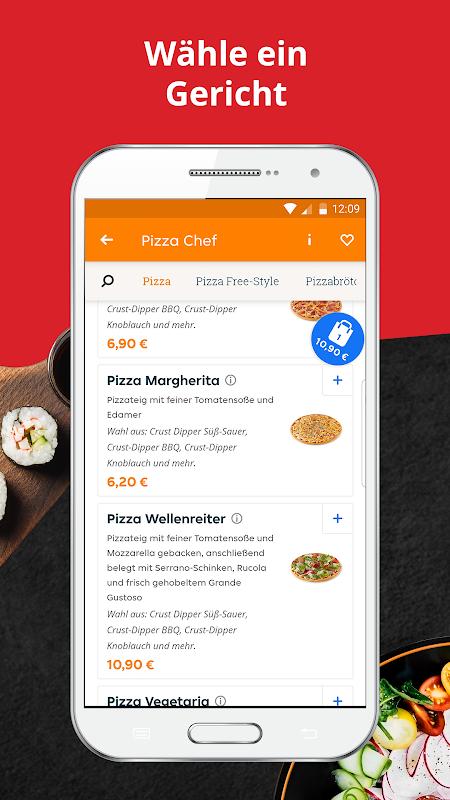 LIEFERHELD | Order Food screenshot 2