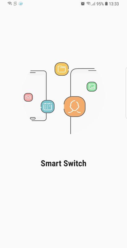 Samsung Smart Switch Mobile screenshot 1
