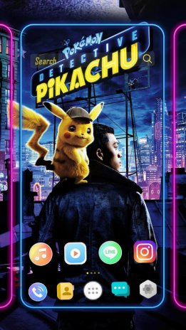 Pokémon Detective Pikachu Themes Live Wallpaper 10