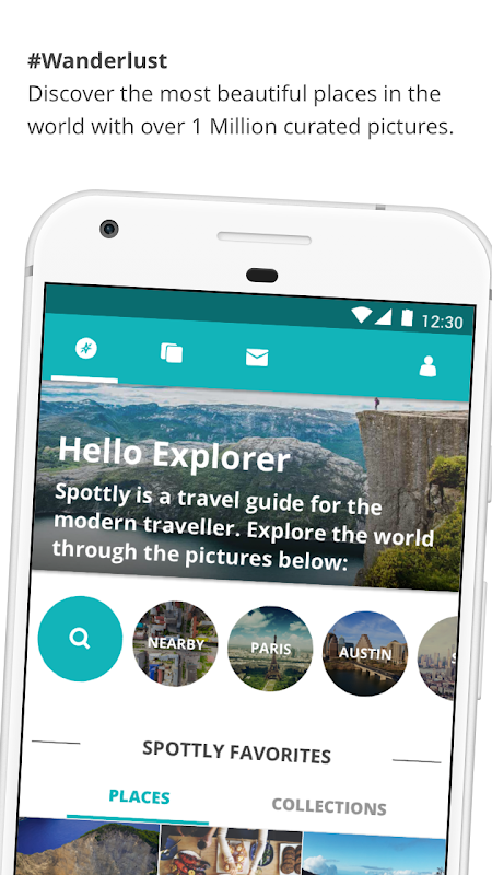 Spottly: Photo Travel Guide For City Trip Planning screenshot 5