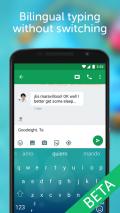 SwiftKey Beta Screenshot