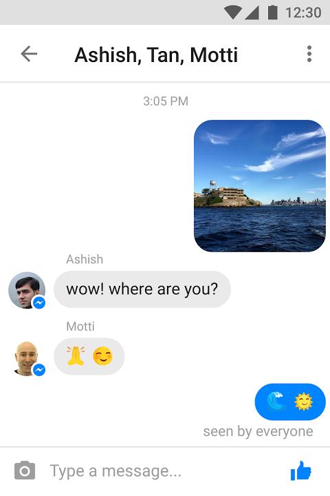 Messenger Lite Chamadas e mensagens grátis screenshot 2