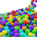 Sand Ball-Falling