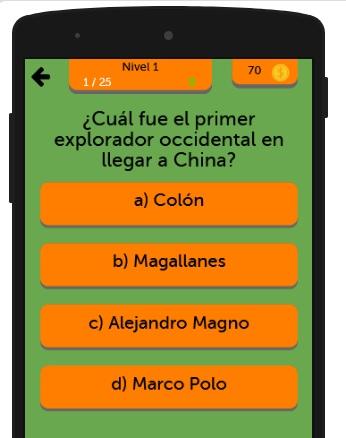 Trivial de Historia screenshot 1